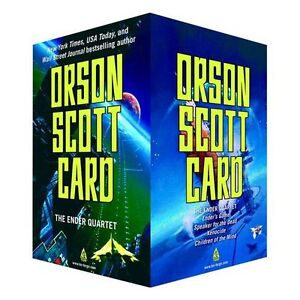 The Ender Quartet Box Set: Ender's Game by Orson Scott Card FREE 2 DAY SHIPPING