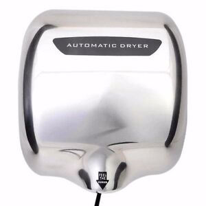 ECO HAND DRYER ELECTRIC FAST SPEED AUTOMATIC HOT WARM AIR DRYER COMMERCIAL HIGH