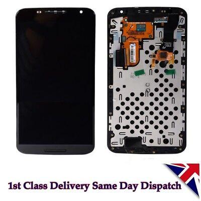Motorola XT1100 XT1103 Google Nexus 6 LCD Screen Digitizer Touch + Frame Housing