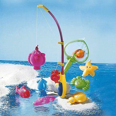 BABY-WALZ Kinder-Angel-Set Badespielzeug NEU mehrfarbig