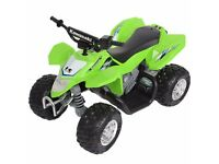 Kids Kawasaki electric quad, excellent condition, £120