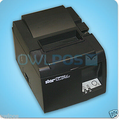Star Micronics TSP143U TSP100 Thermal POS Receipt Printer USB Square Stand