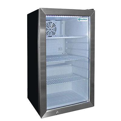 Commercial Counter-top Beverage Display Wglass Door Emm-4sd
