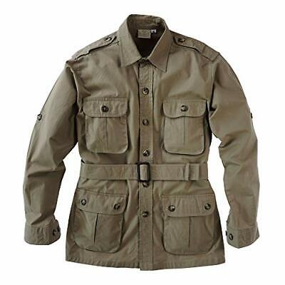 Tag Safari Jacket for Men, Lightweight, Multi Pockets, Perfect for Explorers