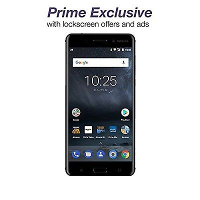 Nokia 6   32 Gb   Unlocked  At T T Mobile    Black   Prime Exclusive   With L
