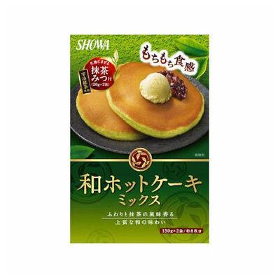 Showa Japanese Green Tea Matcha Pancake Mix 340g