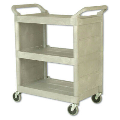 Rubbermaid 300 Lb. Capacity 32 X 18 Utility Cart Platinum 335588pla New
