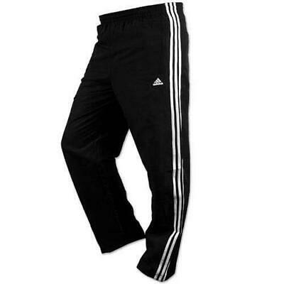 "SALE Adidas Men's ESS 3S  Tracksuit bottoms - Navy-Wht 30"" Waist - 31"" Leg"