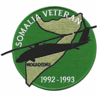 ARMY-NAVY-MARINE Somalia Mogadishu Blackhawk Down Helicopter MILITARY PATCH