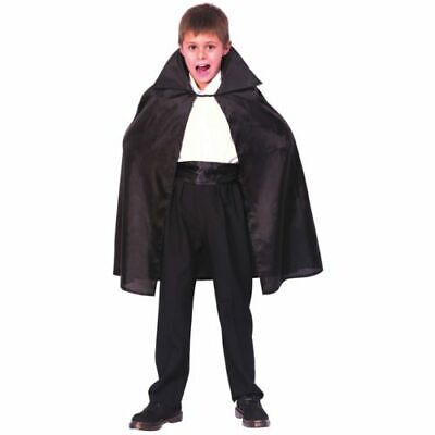 KIDS HALLOWEEN SCARY VAMPIRE CAPE Age 5-7 boys Girl childs fancy dress dracula](Boys Vampire Cape)