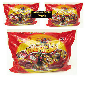 3Pack Vero Rellerindos Tamarind Hard Candy with Soft ...