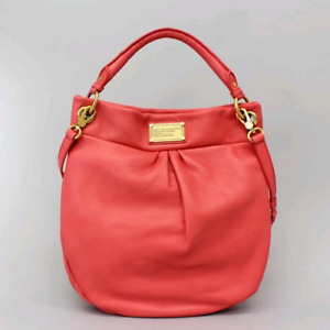 Marc by Marc Jacob's Classic Q Hillier Hobo in Coral