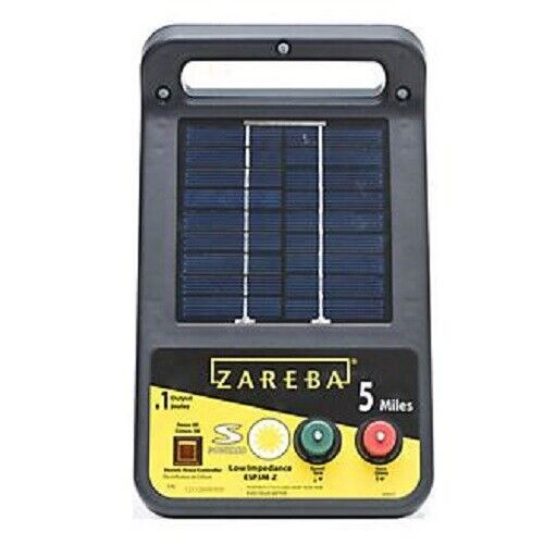 Zareba 5 Mile Solar Charger 2021