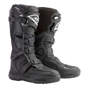 New O'Neal Men's Element Boots (Black, Size 11)