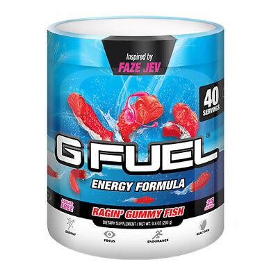 Gamma Labs G Fuel Ragin Gummy Fish GFuel 40 Servings](Gummy Fish)