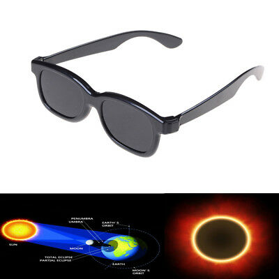 Plastic Solar Eclipse Viewing Glasses Usa 2017 100  Safe Ce Approved Darker Hl