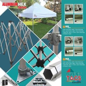 HD Pop-up canopy tent 10 x 10, red color, upgraded fabric
