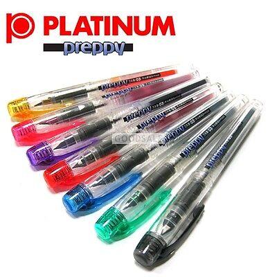 7 Colors x Platinum Preppy Fountain Pen Fine 0.3mm