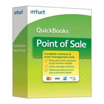 Intuit Quickbooks Point Of Sale V. 18.0 Pro New User From Certified Reseller