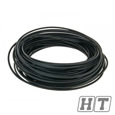 BOWDEN CABLE COVER BLACK 50 METER 5MM FOR MOTORCYCLE MOFA ROLLER QUAD