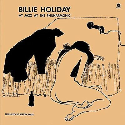 Billie Holiday   At Jazz At The Philarmonic  New Vinyl  Spain   Import