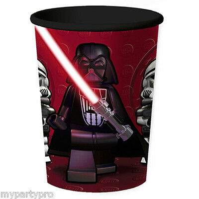 Lego Star Wars SOUVENIR CUPS 2/pk Birthday Party Supplies Hard To Find - Lego Star Wars Party