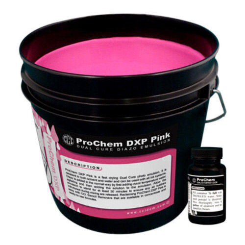 CCI ProChem DXP PINK Screen Printing Emulsion, Quart