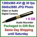 Spy Pen Camcorder 8GB