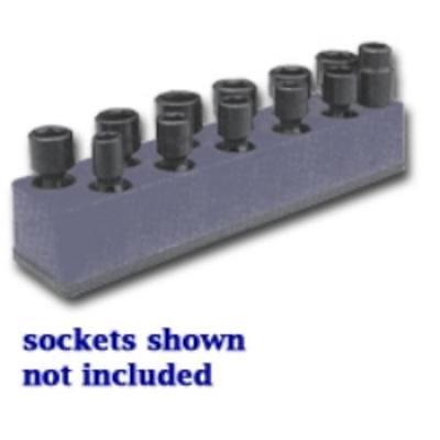 Mechanics Time Saver 988 3/8 In. Drive Universal Black 11 Hole Impact Socket