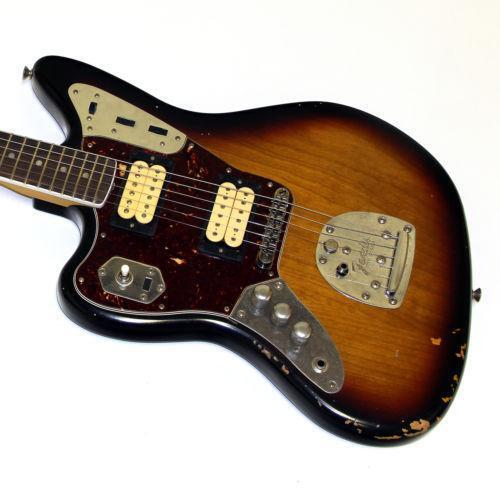 fender kurt cobain signature jaguar ebay. Black Bedroom Furniture Sets. Home Design Ideas