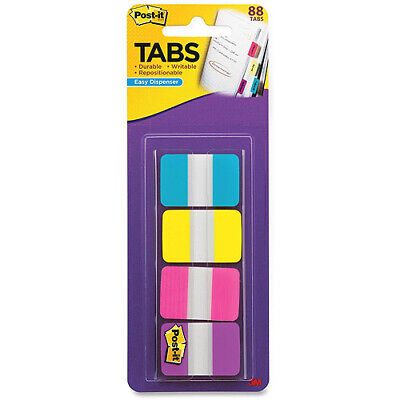 Post-it 1 Solid Color Self-stick Tabs