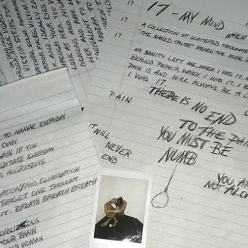 XXXtentacion - 17 Mixtape Album CD