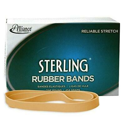 Alliance Rubber 25075 Sterling Rubber Bands Size 107 1 Lb Box Contains Approx.