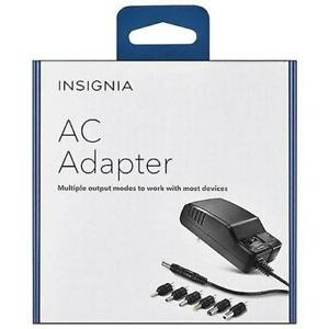 Insignia NS-AC501-C 7-Tip AC Adapter Set