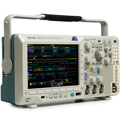 Tektronix Mdo3052 500 Mhz Mixed Domain Oscilloscope 2 Analog Ch