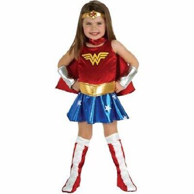 2 Year Old Halloween Costumes (Wonder Woman Costume Dc Comics Halloween Costume Infant Size 2-4, 1-2 Year)