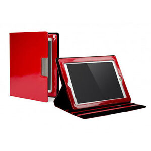 Shiny-Red-iPad-Case-Cover-Red-for-iPad-2-3-4-by-Gygnett-RRP-30-Glossy-Glam-NEW