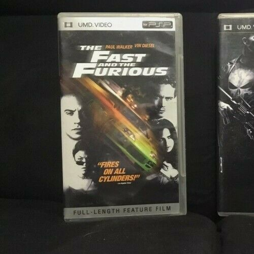 Fast and The Furious PSP UMD - CIB. Tested And Working