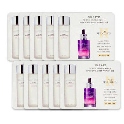 [MISSHA_SP] Time Revolution The First Essence+Borabit Ampoule Sample 10pcs