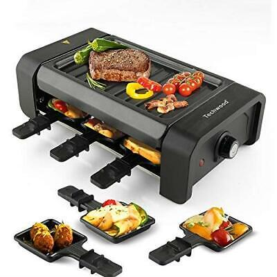 Protale Indoor Mini Electric Tabletop Raclette 6 Non-Stick Grill Plate Home 2020 Grills & Griddles