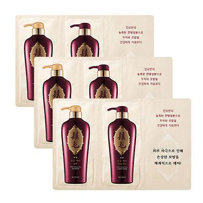 MISSHA Jinmo damage Care Shampoo and Conditioner Samples (8ml+8ml) 3pcs NEW