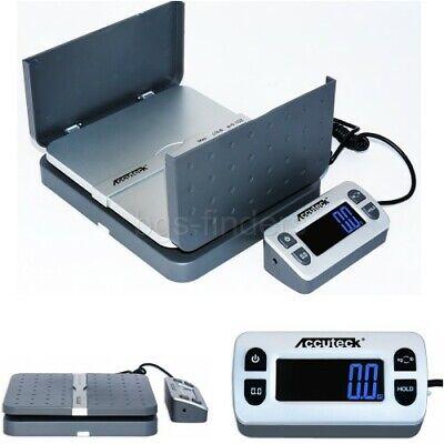 Digital Shipping Postal Scale Electronic Lcd Platform 110lbs X 0.1 Oz Gray