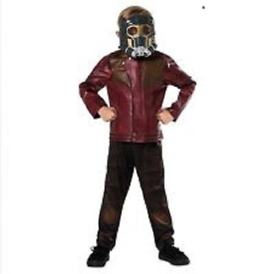 Disney Store Star Lord Costume Mask Halloween Guardians of the Galaxy size 7/8](Star Lord Costume Halloween)