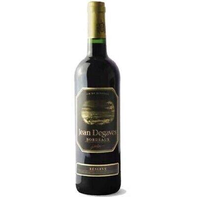 Burdeos Aoc Réserve Jean Degaves - Rojo Francés -cartone 6 Botellas De...