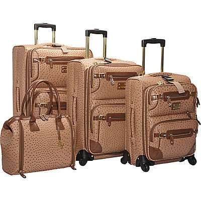 Adrienne Vittadini Union Square 4 Piece Spinner Luggage on Rummage