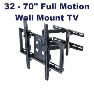 32 - 70 inch Tilt Swivel Full-motion Wall Mount TV Monitor Bracket