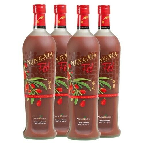 Ningxia Red 4 pack  Young Living Free Shipping Brand New