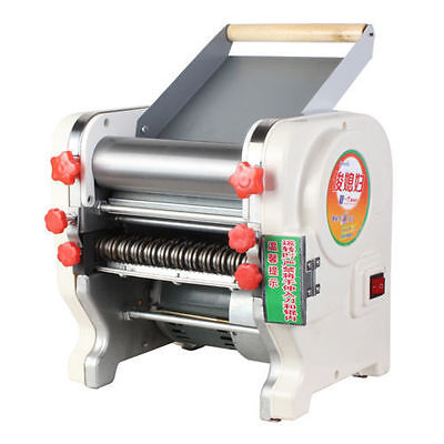 New 220V 550W Stainless Steel Electric Noodles making Machine Pasta Maker Roller