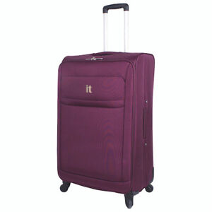 IT Luggage 28in Upright 4 Wheeled Spinner - Purple - NEW in box