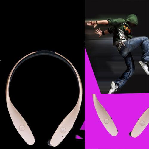 Wireless Bluetooth Headset Stereo Headphone Earphone Sport Universal Handfree~
